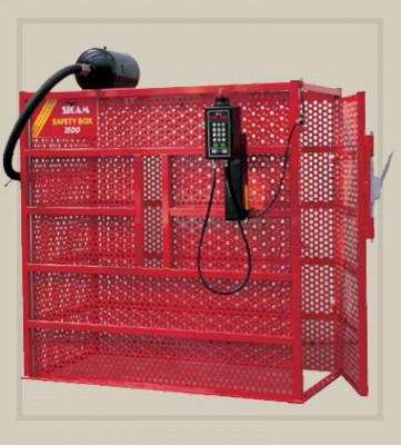 כלוב ניפוח SAFETY BOX 1500 מתוצרת SICAM