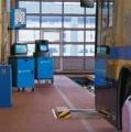 מסלול בדיקת כוחות בלימה וכיוון גלגלים למשאיות 815